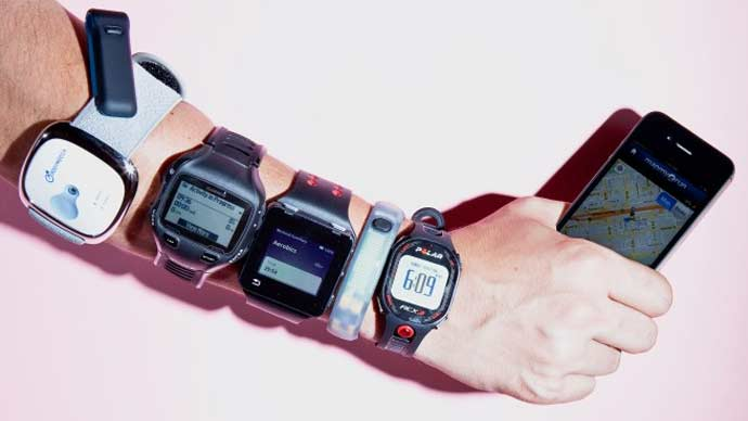 you dont need fitness trackers to perform.